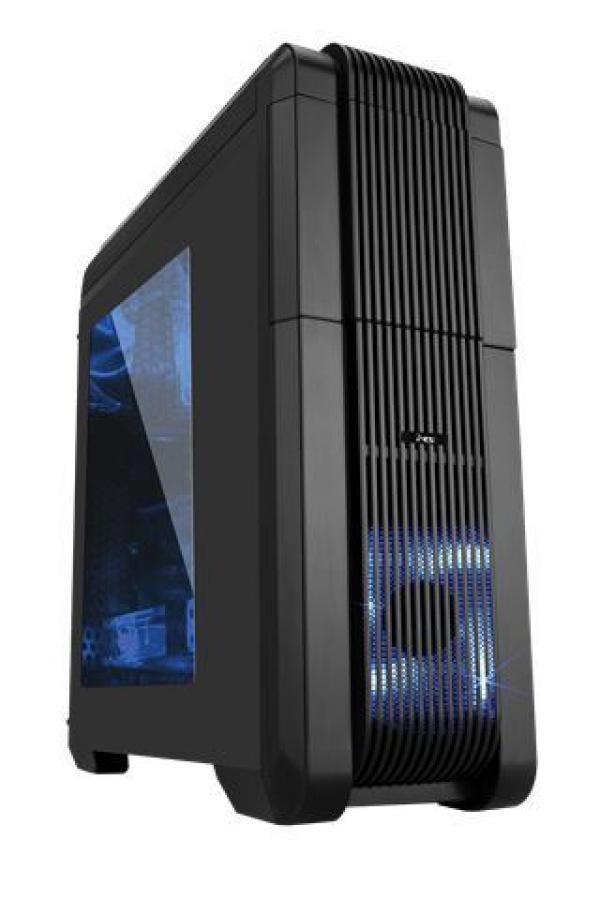 MS MONSTER BLUE PLATINUM 500 v5 gaming kućište s napajanjem