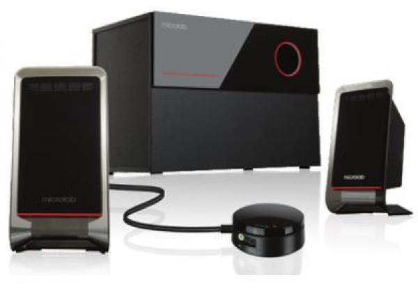ZVUČNICI Microlab M200 2.1  Black
