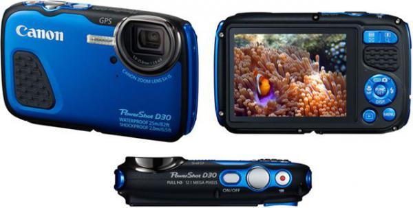 FOTOAPARAT CANON PowerShot D30 blue