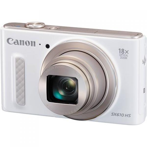 FOTOAPARAT CANON PowerShot SX610 HS white-WiFi,NFC