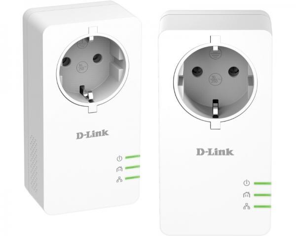 D-LINK DHP-P601AV PowerLine AV2 1000 Passthrough mrežni starter kit