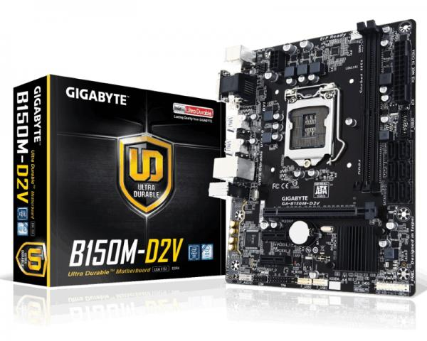 Gigabyte Intel MB GA-B150M-D2V 1151
