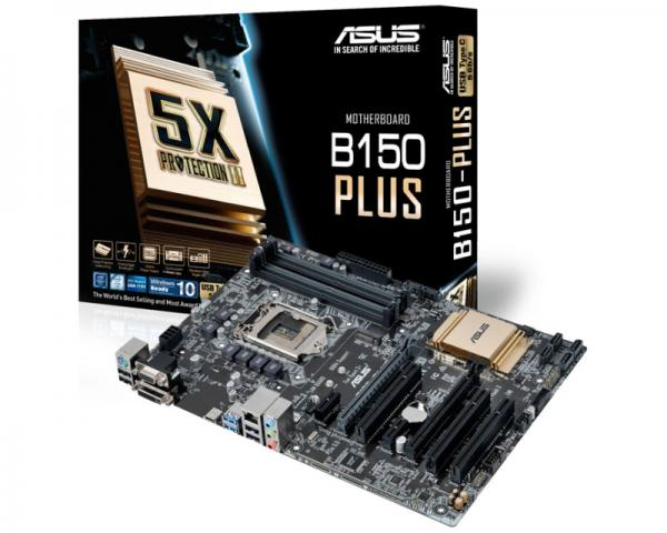 Asus Intel MB B150-PLUS 1151