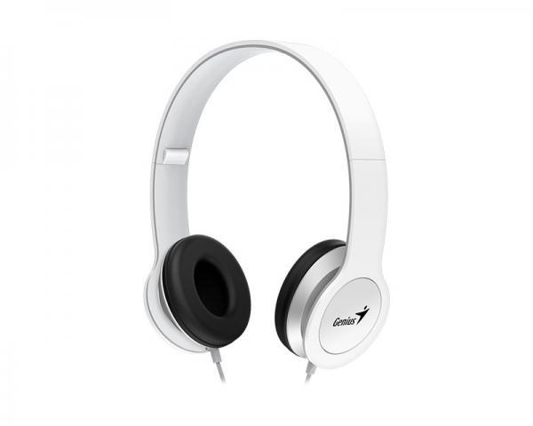 GENIUS HS-M430 bele slušalice sa mikrofonom