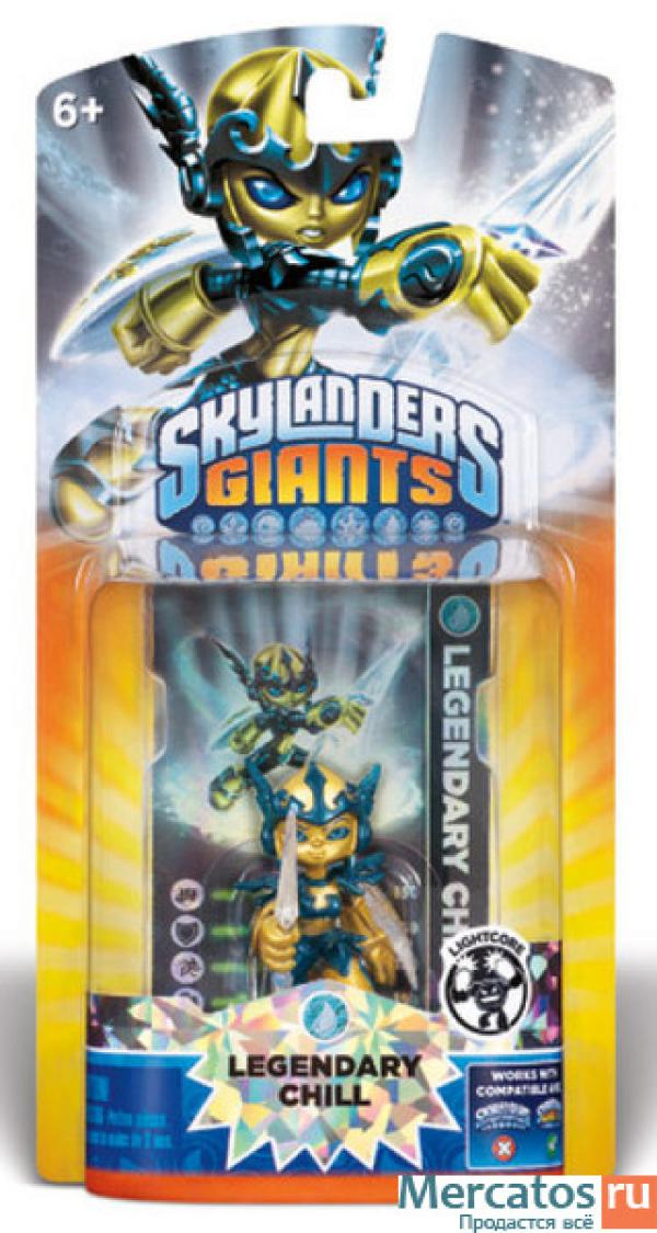 Skylanders G Core Light Character Pack - Legendary Chill