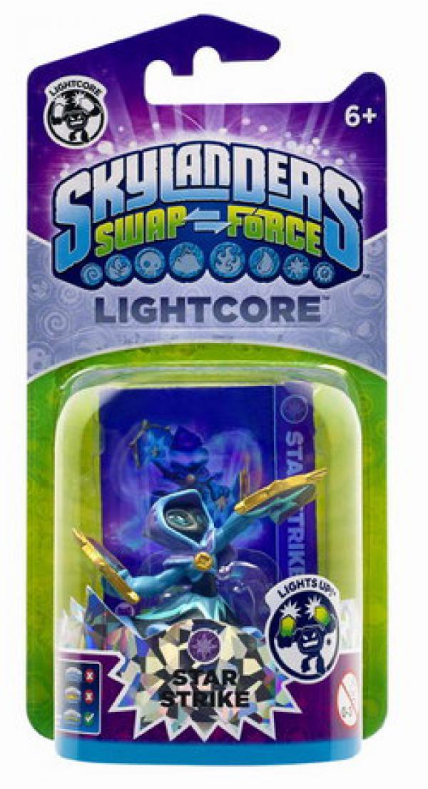 Skylanders SWAP Force Lightcore Star Strike