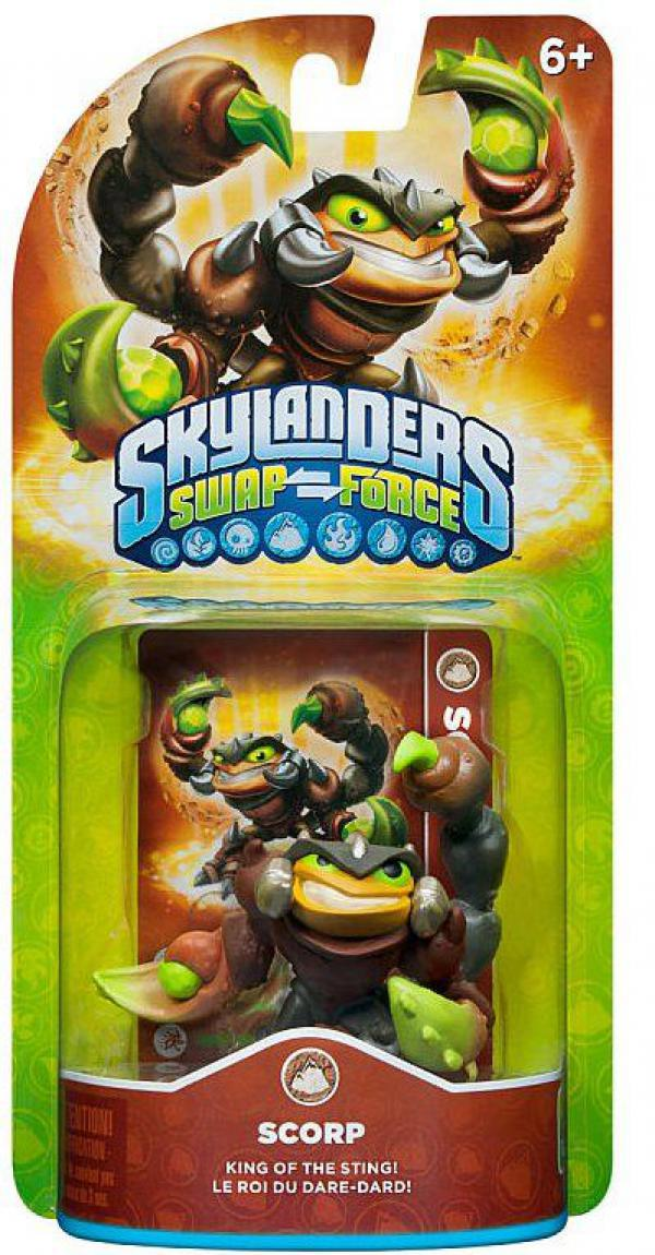 Skylanders SWAP Force Scorp