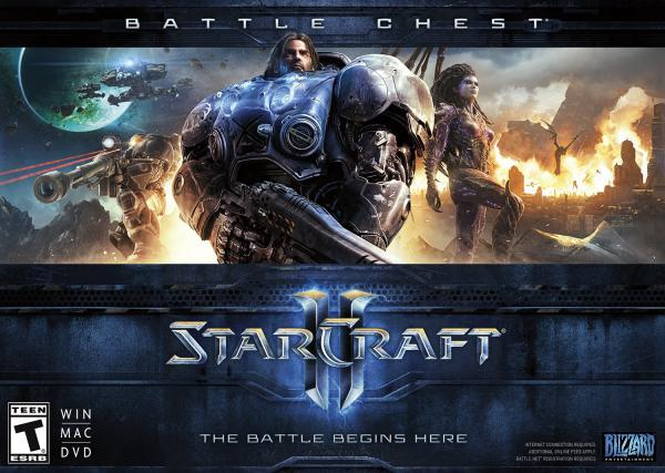 PC Starcraft 2 Battlechest (WoL + HotS)