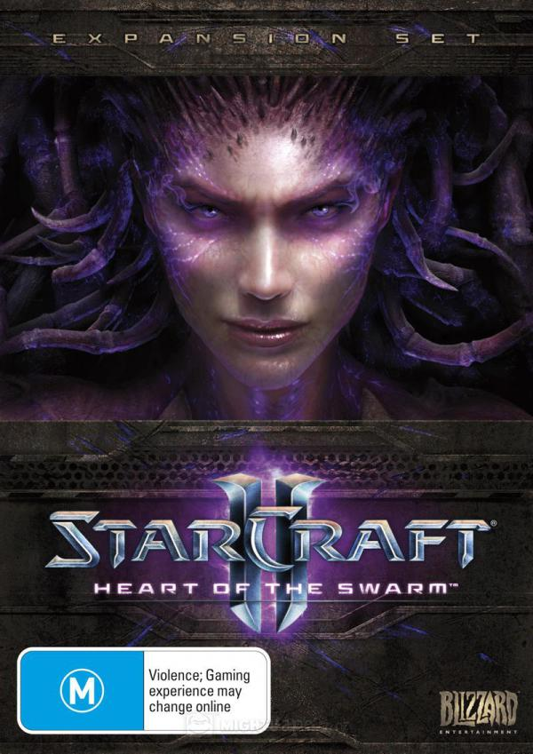 PC Starcraft 2 Heart of the Swarm