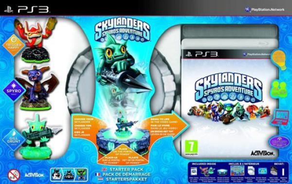 PS3 Skylanders Starter Pack (Game + Portal of Power + Trigger Happy + Spyro + Gill Grunt)