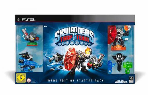 PS3 Skylanders Trap Team Starter Pack Dark Edition