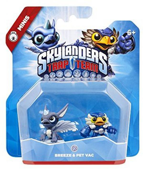 Skylanders Trap Team - Minis Breeze & Pet Vac
