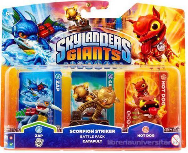Skylanders GIANTS Battle Pack 2 (Zap + Catapult + Hot Dog)
