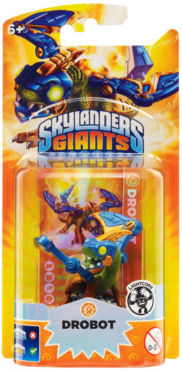 Skylanders G Core Light Character Pack - Drobot