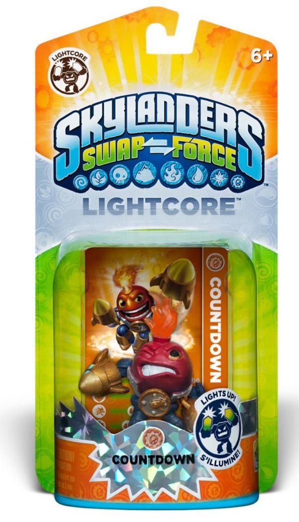Skylanders SWAP Force Lightcore Countdown