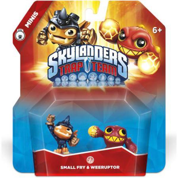 Skylanders Trap Team - Minis Fry & We eruptor