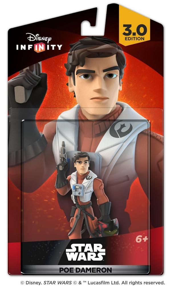 Infinity 3.0 Figure Poe Dameron (Star Wars)