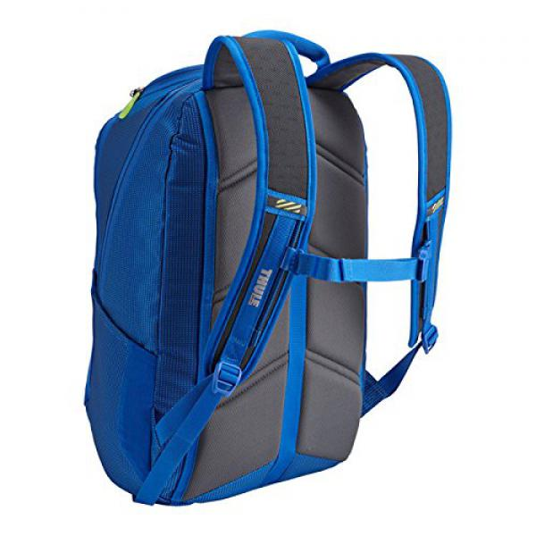 Thule Nylon Backpack for 17'' Apple MacBook Pro, w Safe-zone, Cobalt