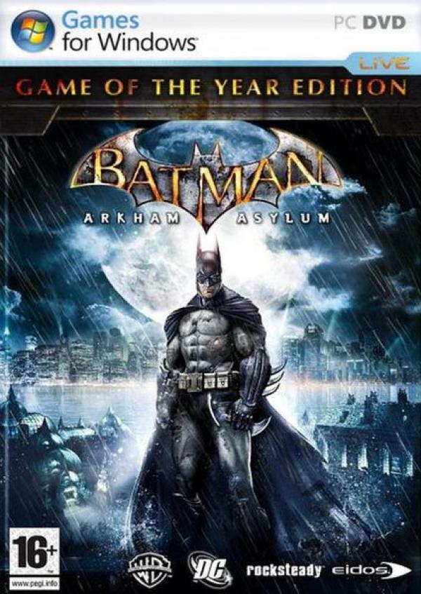 PC Batman Arkham Asylum GOTY