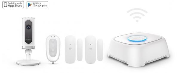 W020 Wi-Fi Alarm System + IP6 Wi-Fi Cam