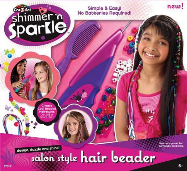 Dečji salon set za ukrašavanje kose