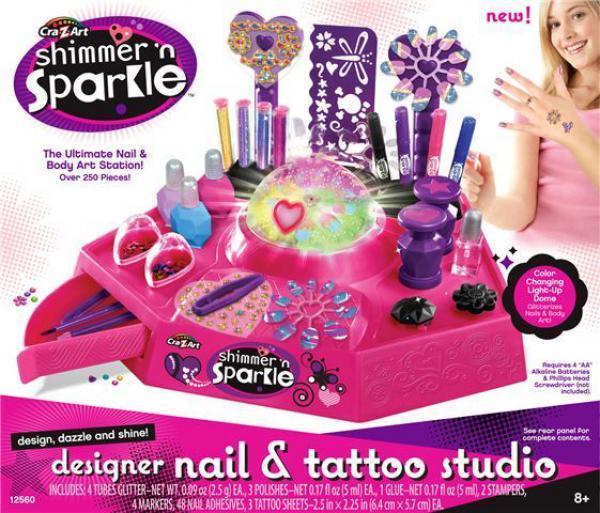 Dečji set za ukrašavanje noktiju s tattoo nalepnicama