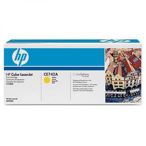 SUP HP TON CE742A Yellow za CP5225
