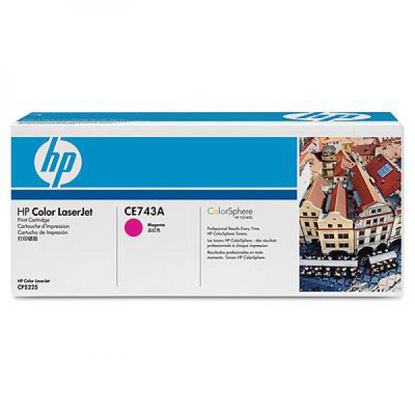 SUP HP TON CE743A Magenta za CP5225