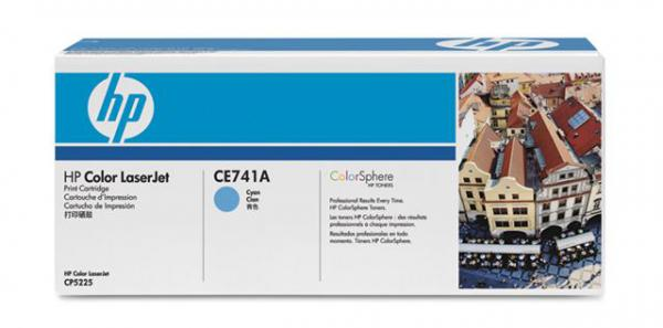 SUP HP TON CE741A Cyan za CP5225