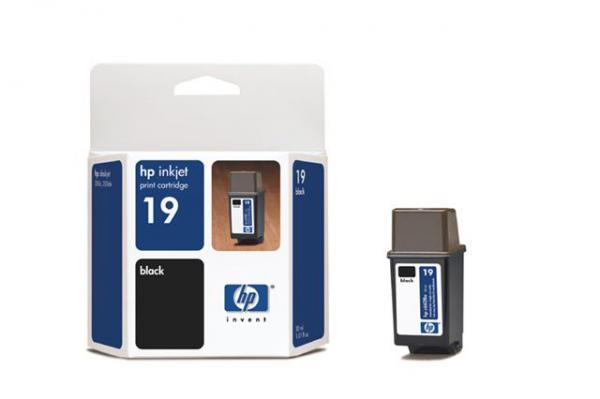HP HP 19 Black Inkjet P