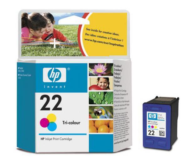 HP HP 22 Tri-colour Ink