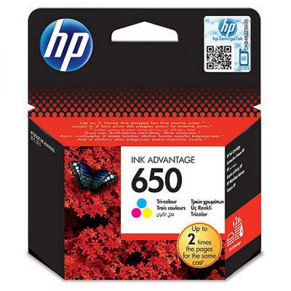 SUP HP INK CZ102AE Tri-colour No.650