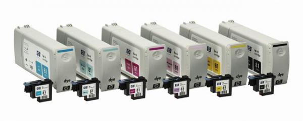 HP HP 81 Dye Ink Cartri