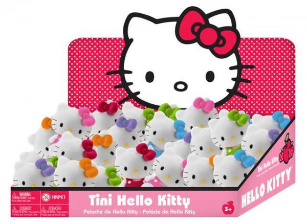 Pliš Hello Kitty, 8 cm, sorto