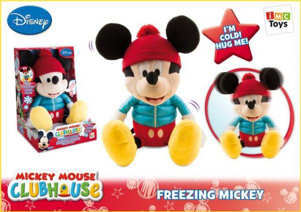 Pliš Freezing Mickey
