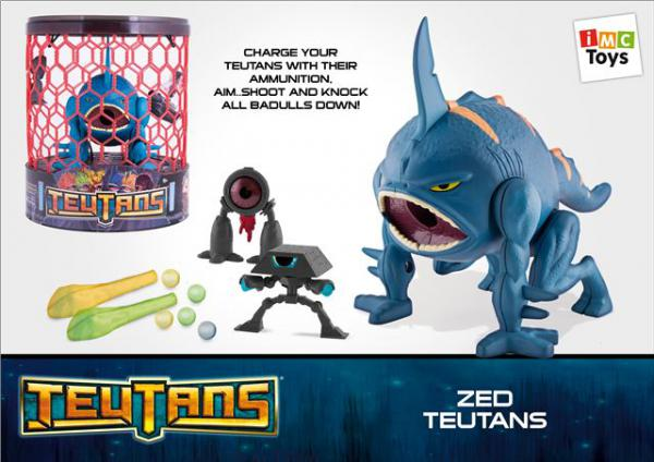 Teutans figura Zed