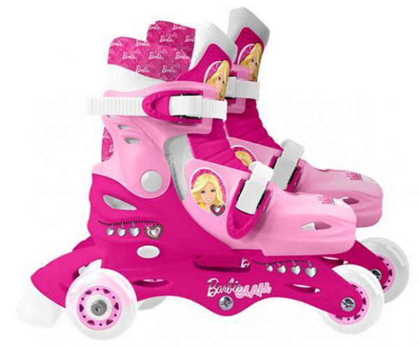 Roleri 2u1 Barbie 3 točka vel. 27-30