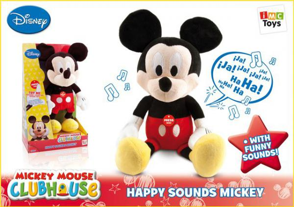 Pliš Happy Sounds Mickey