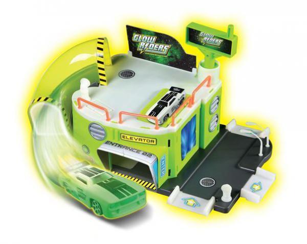 Glow Rider - set za igru - Garaža s 2 nivoa