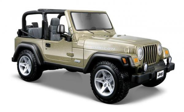 Metalni automobil 1:27 Jeep Wrangler Rubicon