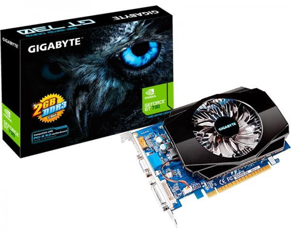 GIGABYTE nVidia GeForce GT 730 2GB 128bit GV-N730-2GI rev.1.0