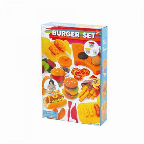 Plastelin set izrada hamburgera