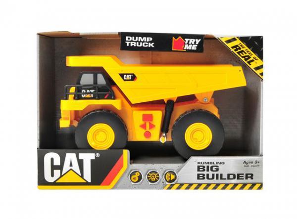 Građevinska mašina CAT Big Builder 22 cm, svetlozvuk - 1 kom