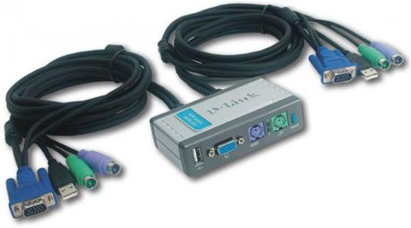 KVM switch D-Link DKVM-2KU