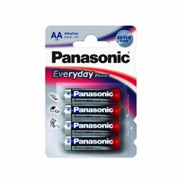 PANASONIC baterije  LR6EPS4BP- AA 4 kom Alkalne Everyday