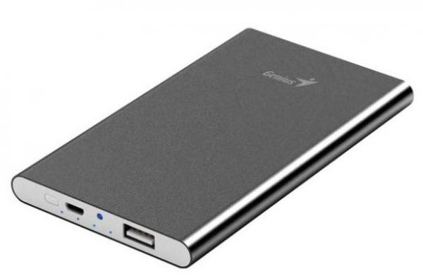 BATERIJA POWER BANK Genius ECO-U540 gray 5400mAh