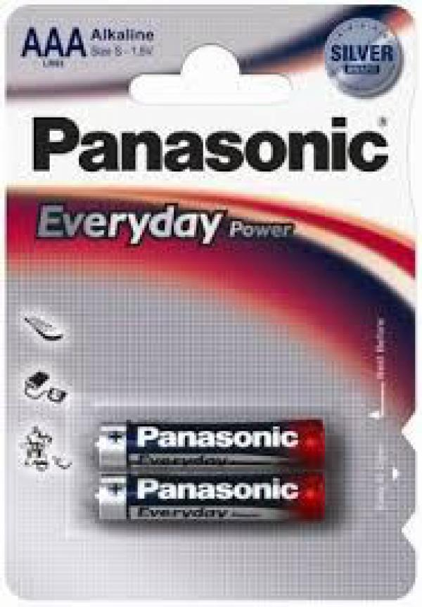 PANASONIC baterije LR03EPS2BP - AAA 2kom Alkalne Everyday