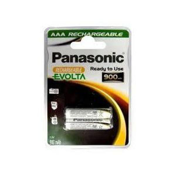 PANASONIC baterije HHR-4XXE2BC - 2× AAA punjive 900 mAh