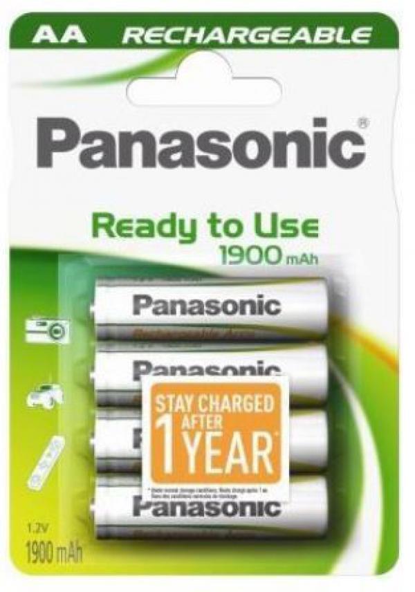 PANASONIC baterije HHR-3MVE4BC, 1900mAh, punj. Ready to use AA