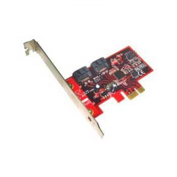 Kontroler Lycom PCIe x1 na 2 6Gbps SATA III ports HybridDrives